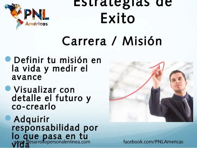 Estrategias de                             Exito                     Carrera / MisiónDefinir tu misión en la vida y medir...