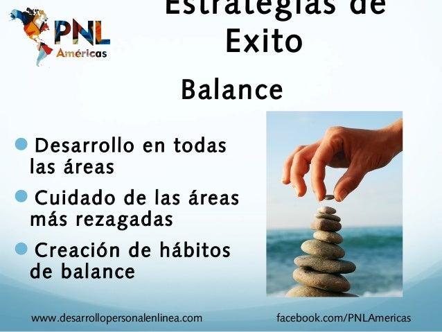 Estrategias de                              Exito                             BalanceDesarrollo en todas las áreasCuidad...