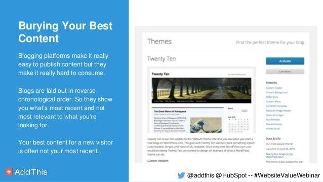 ... 13. Blogging platforms make ...