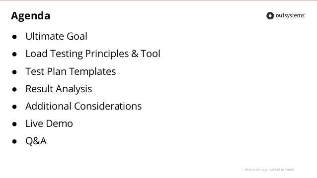 Training Webinar: How to set up a load test in 5 minutes Slide 3