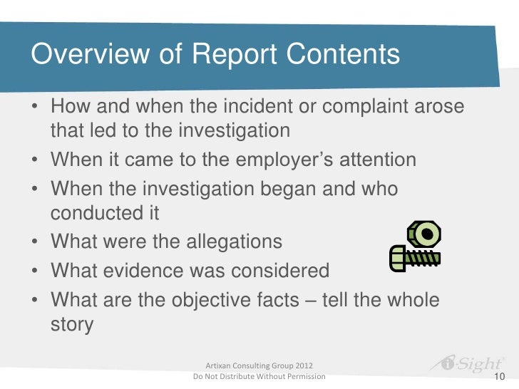 How to Write an Investigation Report that's Clear and Credible