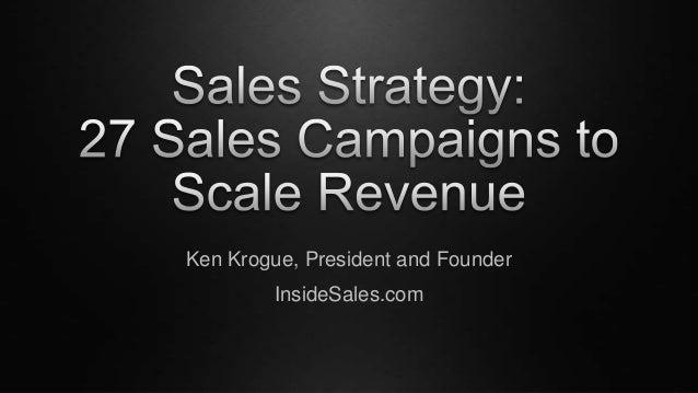 Ken Krogue, President and Founder InsideSales.com
