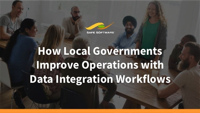 How Local Governments Improve Operations with Data Integration Workflows