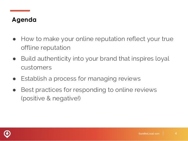 Managing Your Online Reputation And Responding To Reviews