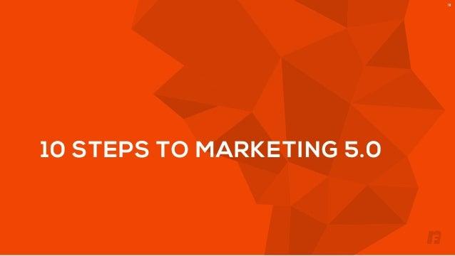 10 STEPS TO MARKETING 5.0  18