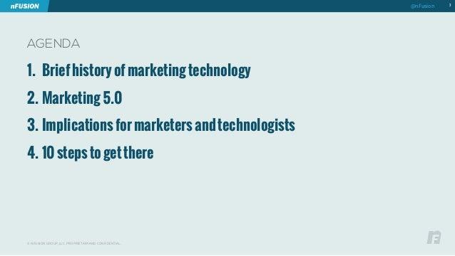 AGENDA  1. Brief history of marketing technology  2. Marketing 5.0  3. Implications for marketers and technologists  4. 10...