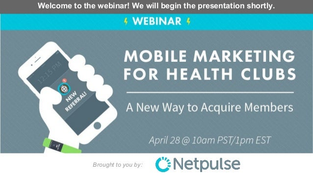Brought to you by: Welcome to the webinar! We will begin the presentation shortly.