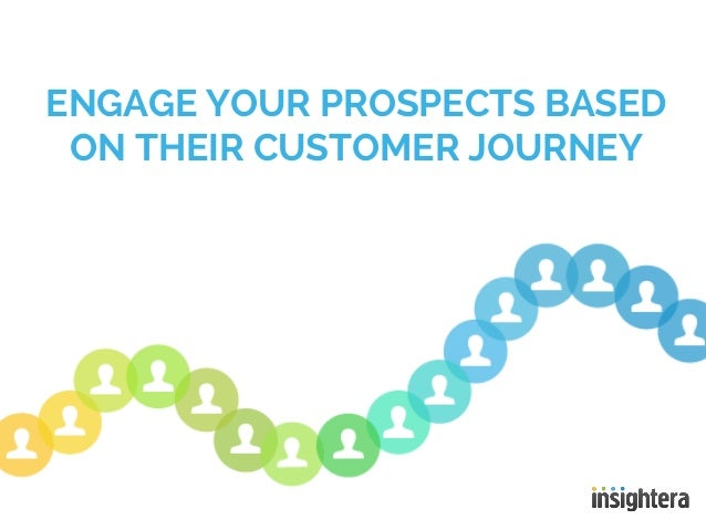 ENGAGE YOUR PROSPECTS BASEDON THEIR CUSTOMER JOURNEY