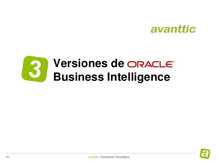 Webinar Migración a Oracle Business Intelligence 11g