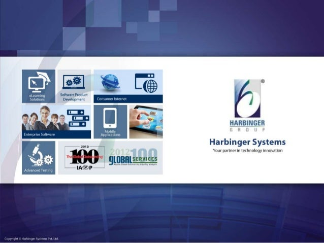 Harbinger Systems Welcomes you A Webinar on Best Practices in Responsive Web Design