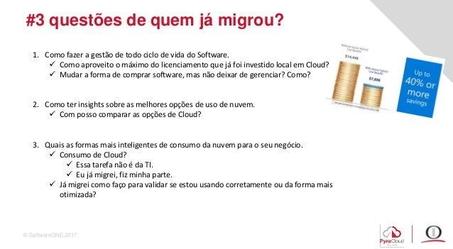 Cloud, já migrei e agora? Slide 3