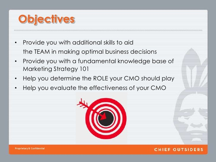 Objectives<br />Provide you with additional skills to aid <br />     the TEAM in making optimal business decisions<br />Pr...