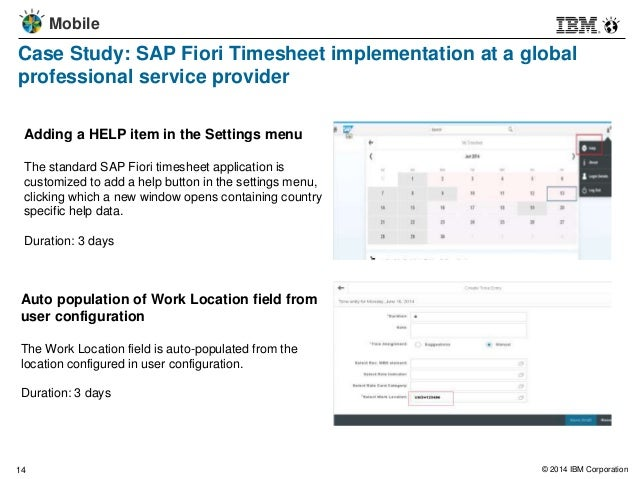 SAP Fiori:Value from Enabling Mobile Access to Common SAP