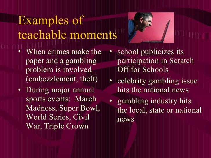 Gambling industry essay
