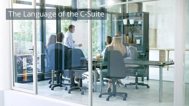 #wpewebinar The Language of the C-Suite