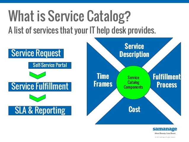 Let's Take IT Outside: Extending Your IT Service Catalog