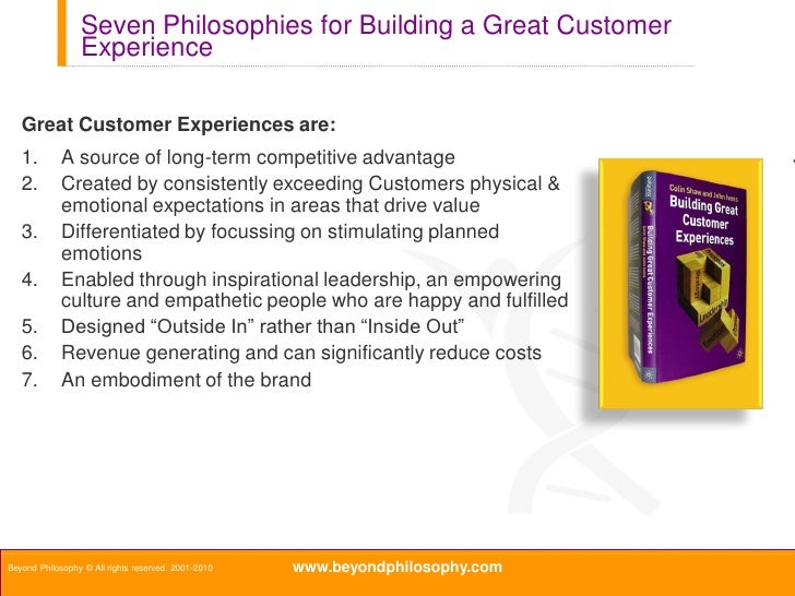 31 seven philosophies for building a great