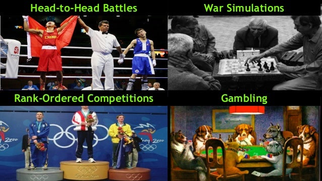 Head-to-Head Battles War Simulations Rank-Ordered Competitions Gambling