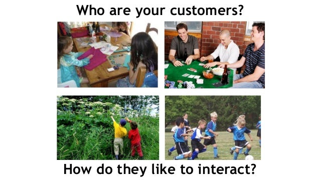 Who are your customers? How do they like to interact?