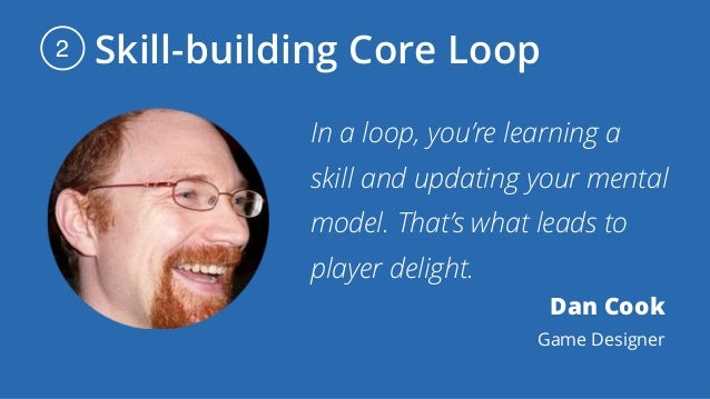 Skill-building Core Loop2 In a loop, you're learning a skill and updating your mental model. That's what leads to player d...