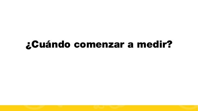 #FormaciónEBusiness ¿Cuándo comenzar a medir?