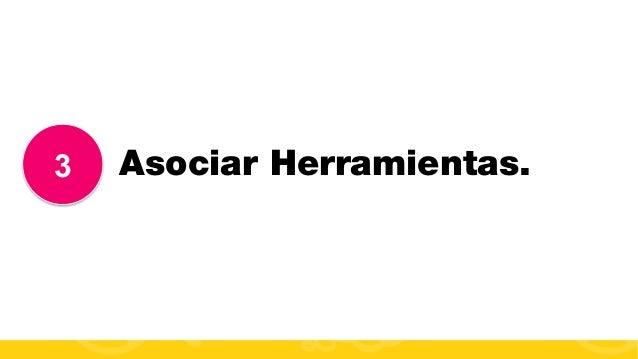 #FormaciónEBusiness 3 Asociar Herramientas.