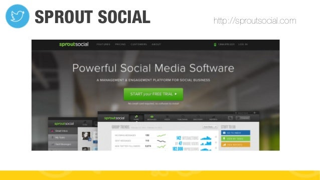 #FormaciónEBusiness SPROUT SOCIAL http://sproutsocial.com