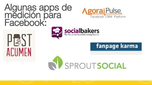 #FormaciónEBusiness Algunas apps de medición para Facebook: