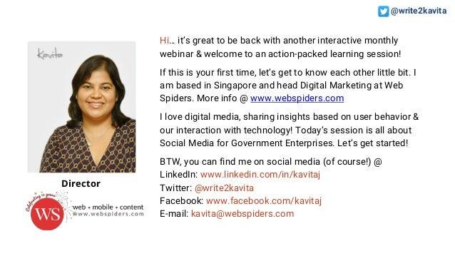 Social Media for Government Enterprises Slide 2