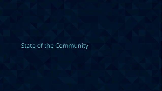 #wpewebinar State of the Community