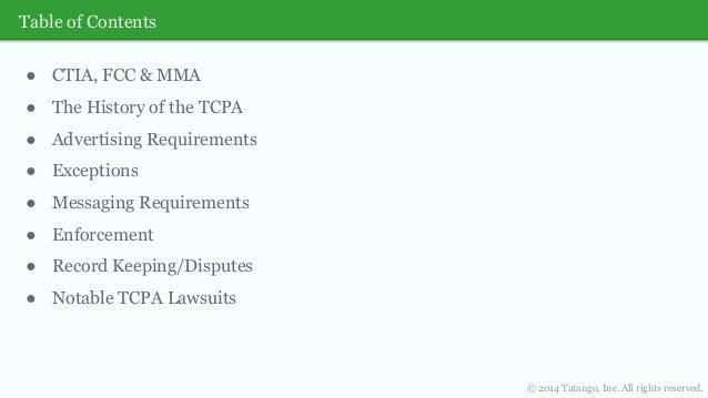 TCPA SMS Marketing Laws Webinar Slide 3