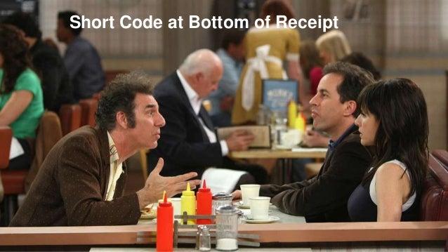 ©2014 Qualtrics – Company Confidential32 Short Code at Bottom of Receipt