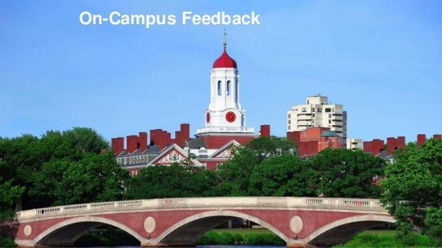 ©2014 Qualtrics – Company Confidential33 On-Campus Feedback