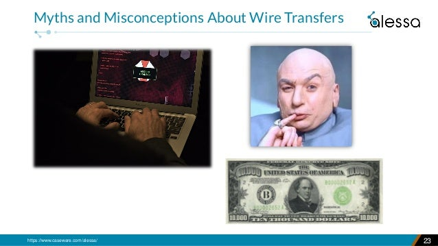 https://www.caseware.com/alessa/ 23 Myths and Misconceptions About Wire Transfers