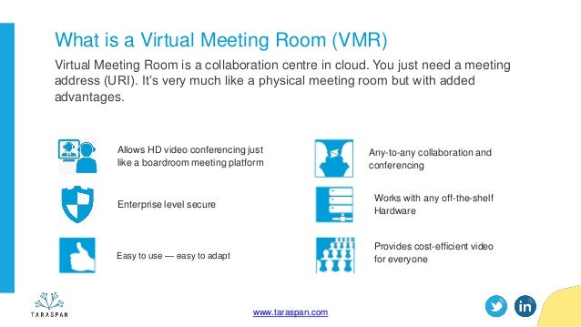 Webinar] - Why virtual meeting room (vmr) is the future of video con…