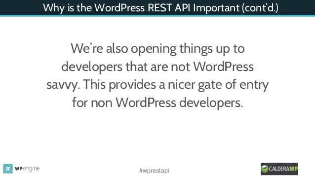 how to use wordpress api