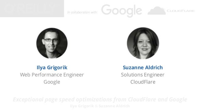 Exceptional page speed optimizations from google and cloudflare