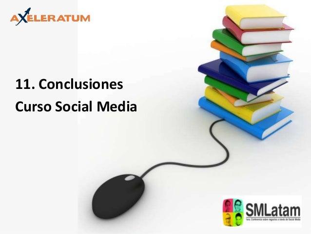 11. Conclusiones Curso Social Media