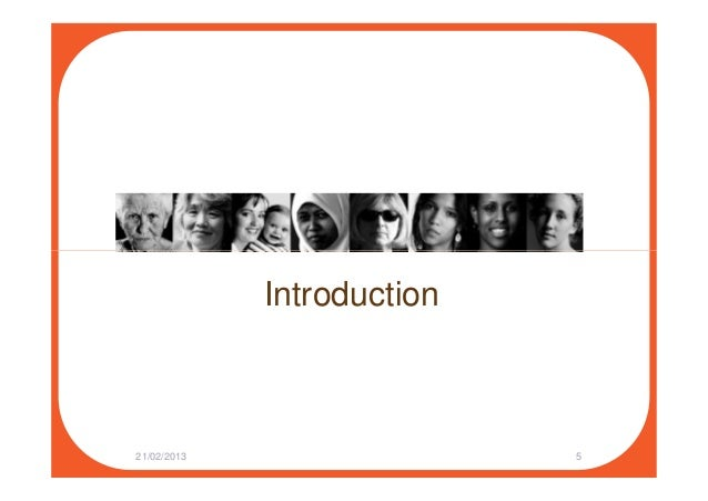 Introduction 21/02/2013 5