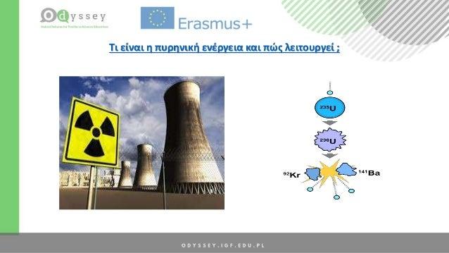 Τι είναι η πυρηνική ενέργεια και πώς λειτουργεί ;