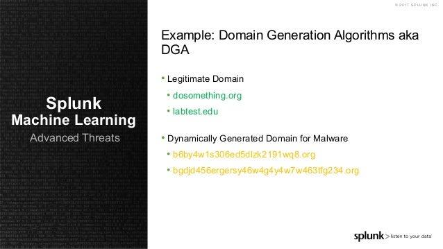 Using Splunk to Defend Against Advanced Threats - Webinar