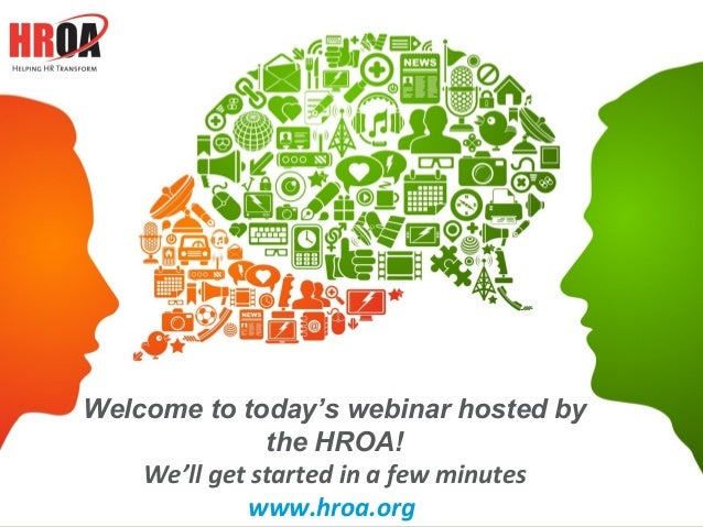 1Content Property of Pinstripe, Inc.Welcome to today's webinar hosted bythe HROA!We'll get started in a few minuteswww.hro...