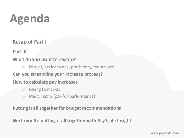 budgeting part 2  determining pay ranges