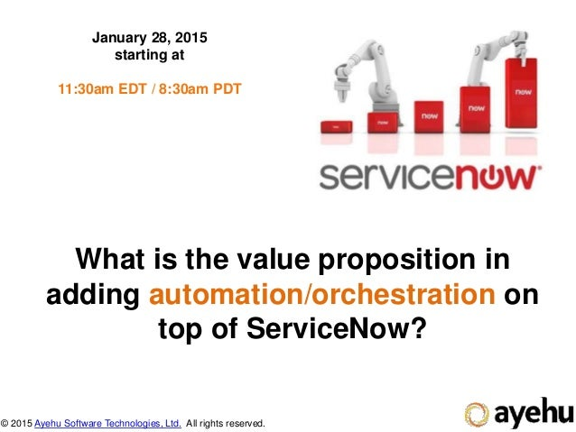 what is servicenow