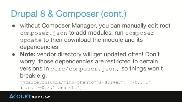 update drupal 8 core manually