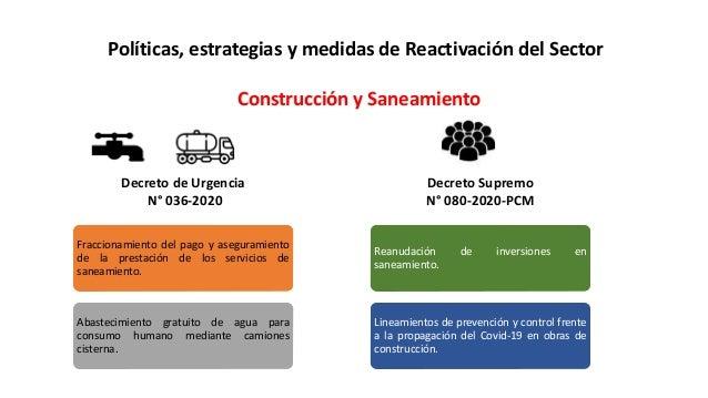 Webinar: Marco Normativo del Sector Saneamiento COVID-29 - 20 de mayo Slide 3