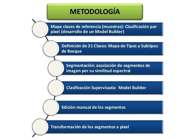 Mapa clases de referencia (muestras): Clasificación por pixel (desarrollo de un Model Builder) Definición de 21 Clases: Ma...