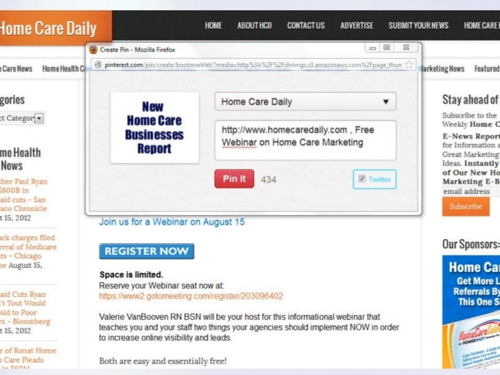 Home Care Marketing Online: 2 Moves You Should Make NOW to Increase H…