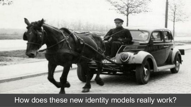 How does these new identity models really work?