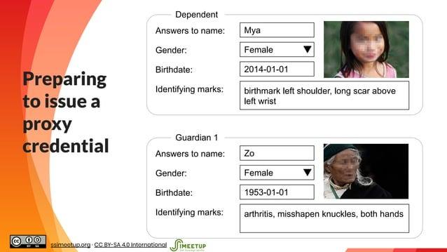 """ Answers to name: Mya Dependent Gender: Female Birthdate: 2014-01-01 Identifying marks: birthmark left shoulder, long sca..."
